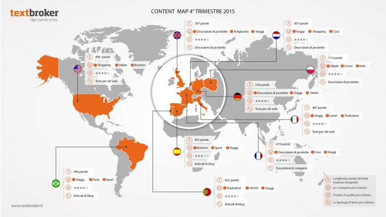 Content Map 4° Trimestre 2015
