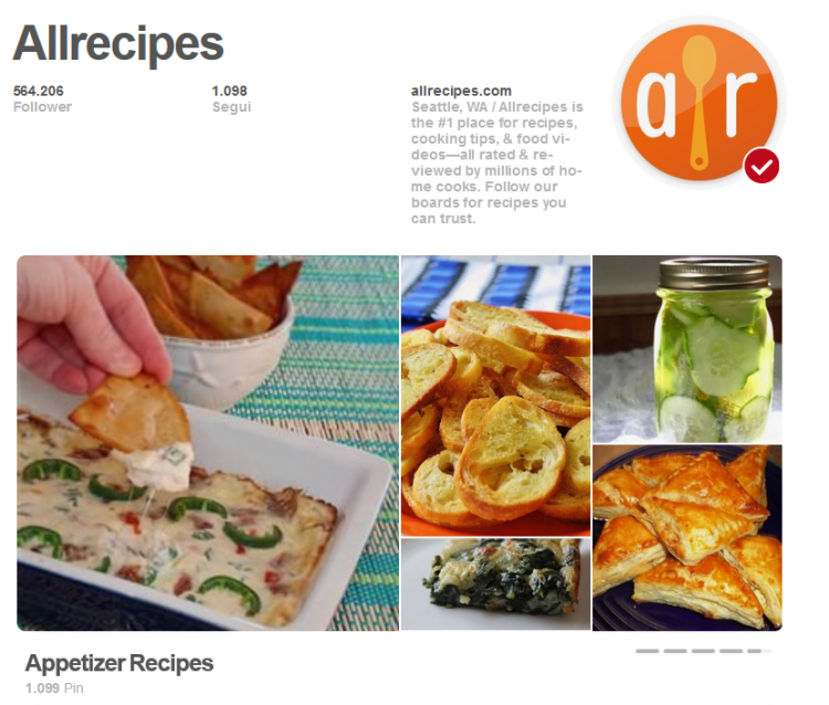 Home di Allrecipes su Pinterest