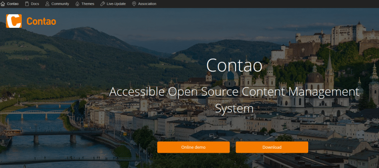 Content Management System: Contao
