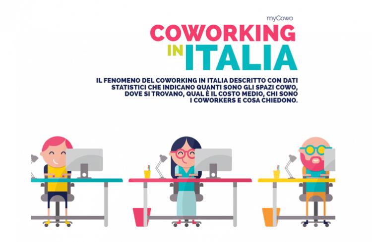 Infografica coworking in Italia