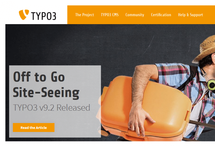Content Management System: Typo3