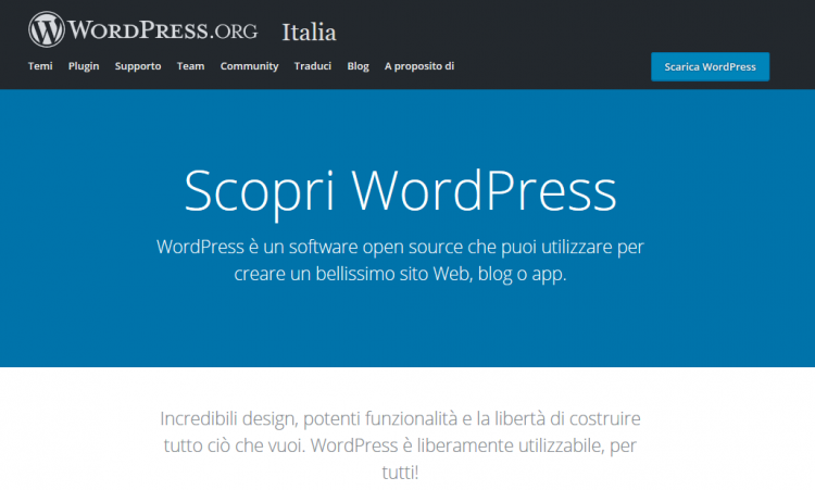 Content Management System: WordPress