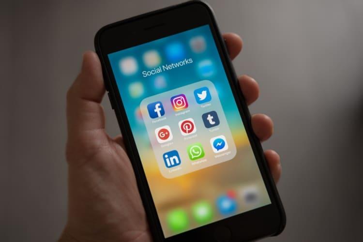 Social media per User intent