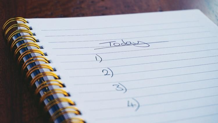 Lista cose da fare